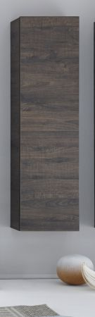 Vitrine Vicenza in Wenge Hängevitrine und Standvitrine 32 x 131 cm