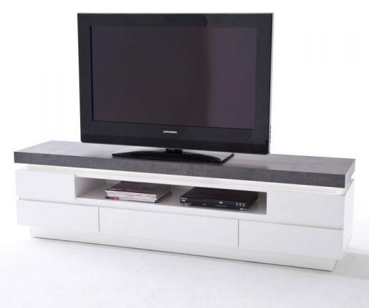 tv lowboard atlanta matt wei und stone design 175 cm. Black Bedroom Furniture Sets. Home Design Ideas