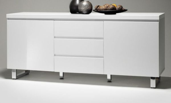 Kommode Sideboard Bumerang Walnuss Anthrazit