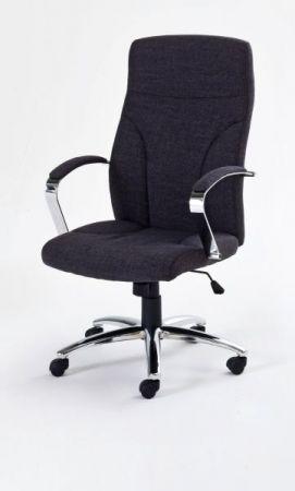 Bürostuhl David in anthrazit meliert mit Wippmechanik Chefsessel bis 150 kg