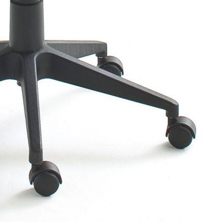 Bürostuhl Elis H in schwarz mit Wippmechanik Drehsessel bis 120 kg