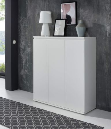 Kommode Basix in weiß Anrichte 100 x 120 cm Sideboard
