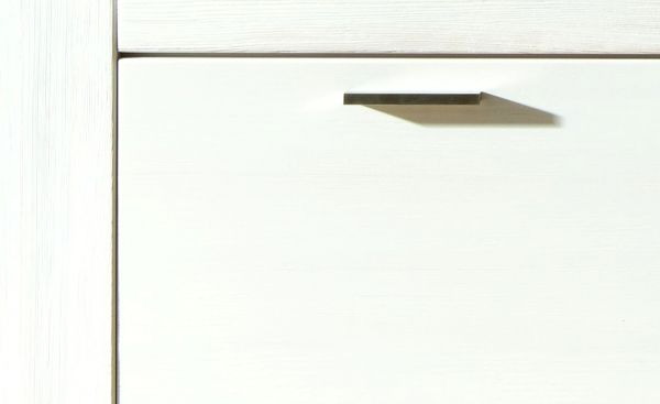 Sideboard Polarpinie teilmassiv weiß lackiert Conturio9 LAGERWARE