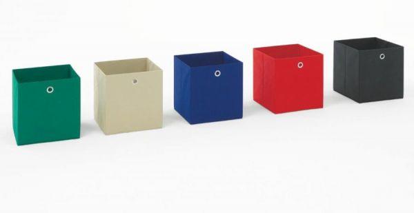 Faltbox in grün Aufbewahrungsbox Stoffbox 32 x 32 cm Klappbox Sammelbox