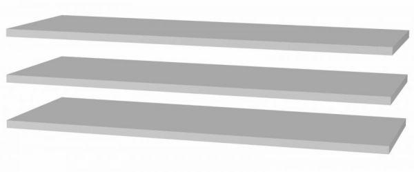 Kleiderschrank Bellevue in Eiche / Schlammeiche 5-türig inkl. LED Beleuchtung 261 x 220 cm