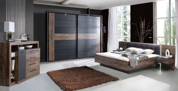 Sideboard Bellevue in Eiche / Schlammeiche Kommode 161 x 107 cm