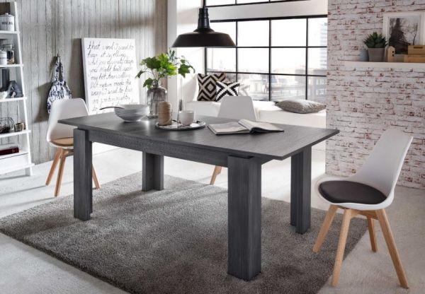 esstisch esche grau g nstig online kaufen. Black Bedroom Furniture Sets. Home Design Ideas
