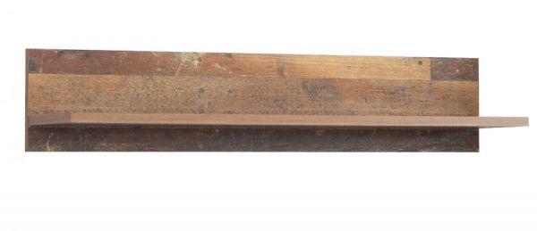 Wandboard Clif in Old Used Wood Shabby Wandregal 120 x 23 cm Bücherregal