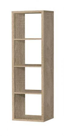 Regal System Mauro in Sonoma Eiche Standregal 38 x 142 cm Bücherregal Raumteiler