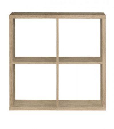 Regal System Mauro in Sonoma Eiche Standregal 73 x 73 cm Bücherregal quadratisch Raumteiler
