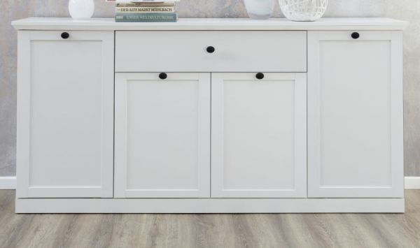 Sideboard Baxter in weiss Kommode 157 cm