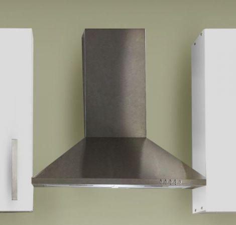"""Küchenblock Einbauküche """"White Classic"""" weiß inkl. E-Geräte 270 cm"""