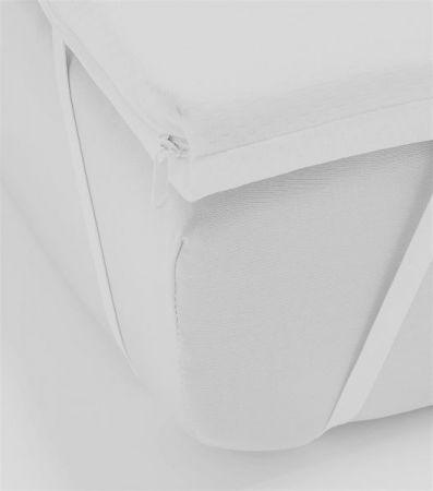 """Viscoschaum Topper """"Basic Pik"""" von Luxform (200 x 200 cm) mit Kernhöhe 6 cm"""