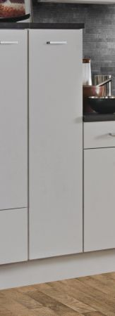 """Küchenblock Einbauküche """"White Classic"""" weiß inkl. E-Geräte + Geschirrspüler und Apothekerschrank 300 cm"""