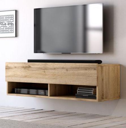 """TV Lowboard """"Epsom"""" in Wotan Eiche hängend 100 x 30 cm"""