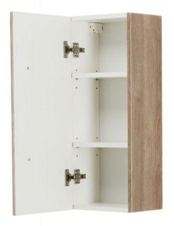 Badezimmer Hängeschrank Homeline in Sonoma Eiche hell Badschrank 30 x 70 cm Badmöbel