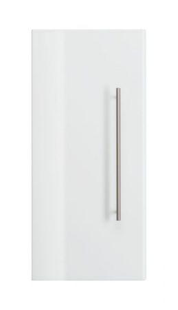 Badezimmer Hängeschrank Homeline in Hochglanz weiß Badschrank 30 x 70 cm Badmöbel Kommode