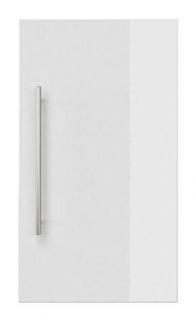Badezimmer Hängeschrank Teramo in Hochglanz weiß Badschrank 35 x 62 cm Badmöbel
