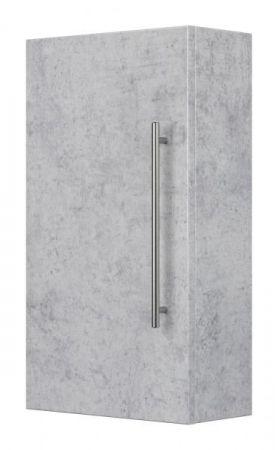 Badezimmer Hängeschrank Teramo in Stone Design grau Badschrank 35 x 62 cm Badmöbel