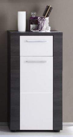 """Badezimmer: Unterschrank """"Xpress"""" weiß, Esche grau (40x78 cm)"""