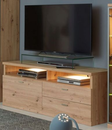 TV-Lowboard Echo in Artisan Eiche 150 x 62 cm