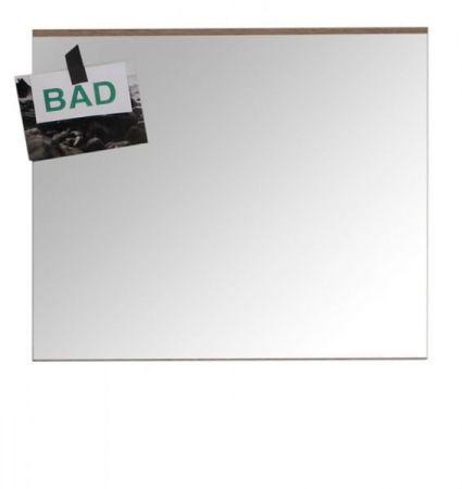 Badezimmer Spiegel SetOne in Eiche San Remo Badmöbel 60 x 55 cm Badspiegel