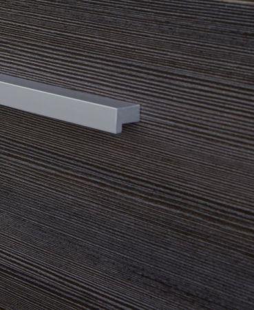 Waschbeckenunterschrank Star in Eiche hell mit Touchwood dunkel Badmöbel 70 x 61 cm