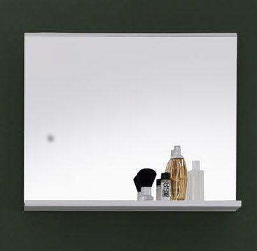 Badmöbel Set Mezzo 3-teilig in weiß Hochglanz und Eiche hell