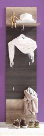 Garderobe Garderobenpaneel Flurgarderobe Polo 50 x 191 cm Canyon Monument Eiche Touchwood