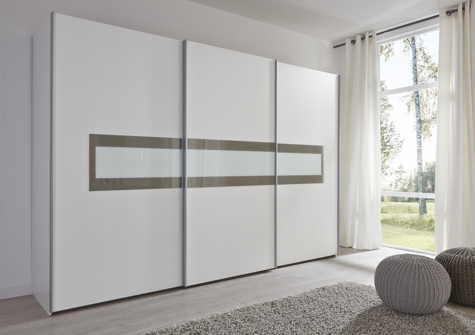 schwebet renschrank kleiderschrank wei grau. Black Bedroom Furniture Sets. Home Design Ideas