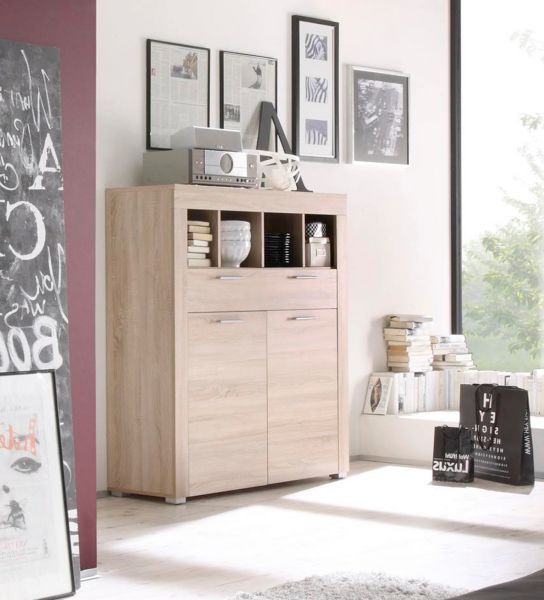 sideboard kommode boom eiche s gerau hell. Black Bedroom Furniture Sets. Home Design Ideas