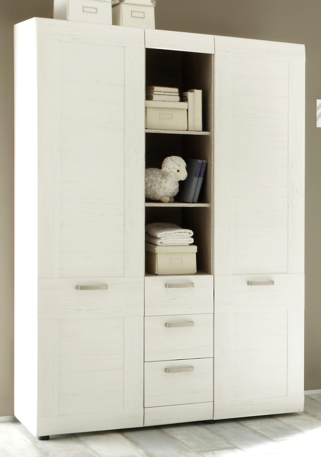babyzimmer kinderzimmer wei komplett set 3 tlg neu pinie. Black Bedroom Furniture Sets. Home Design Ideas