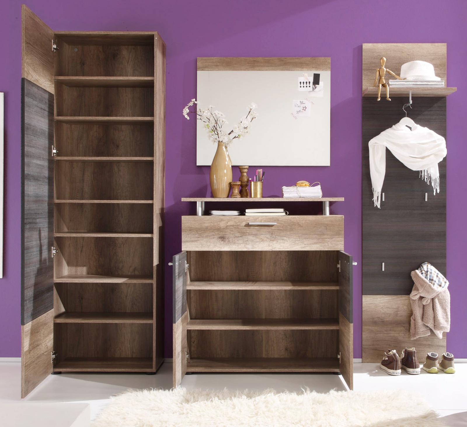 kommode polo canyon monument eiche touchwood. Black Bedroom Furniture Sets. Home Design Ideas