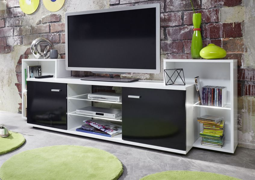 tv board xenon wei gl nzend 190 cm. Black Bedroom Furniture Sets. Home Design Ideas