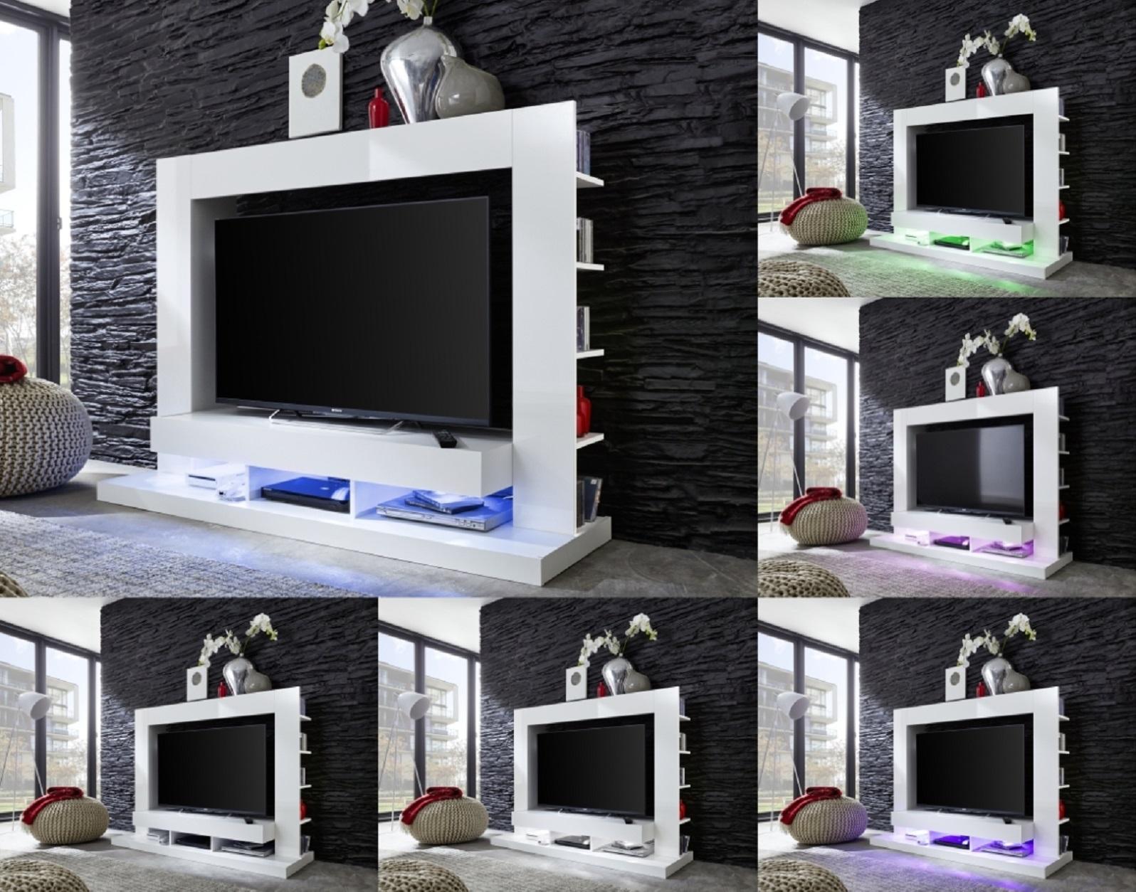 mediawand cyneplex wei gl nzend. Black Bedroom Furniture Sets. Home Design Ideas