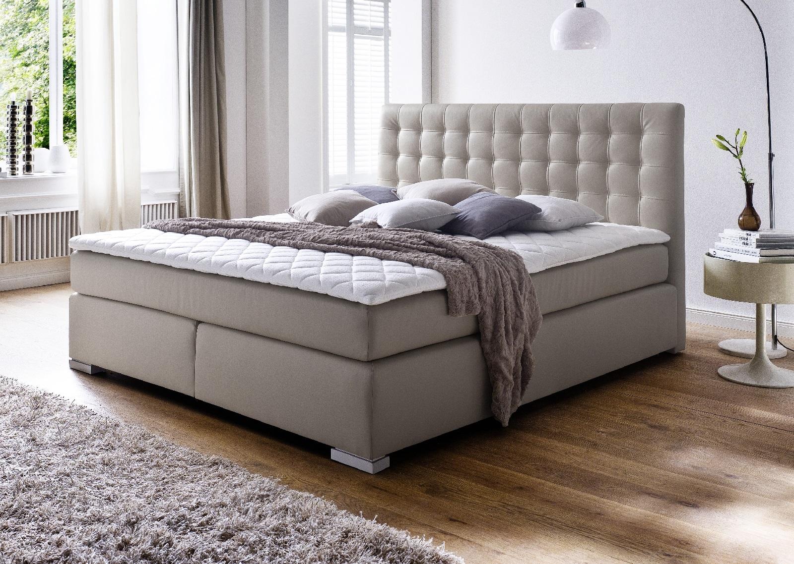 boxspringbett isabelle muddy 180cm x 200cm. Black Bedroom Furniture Sets. Home Design Ideas