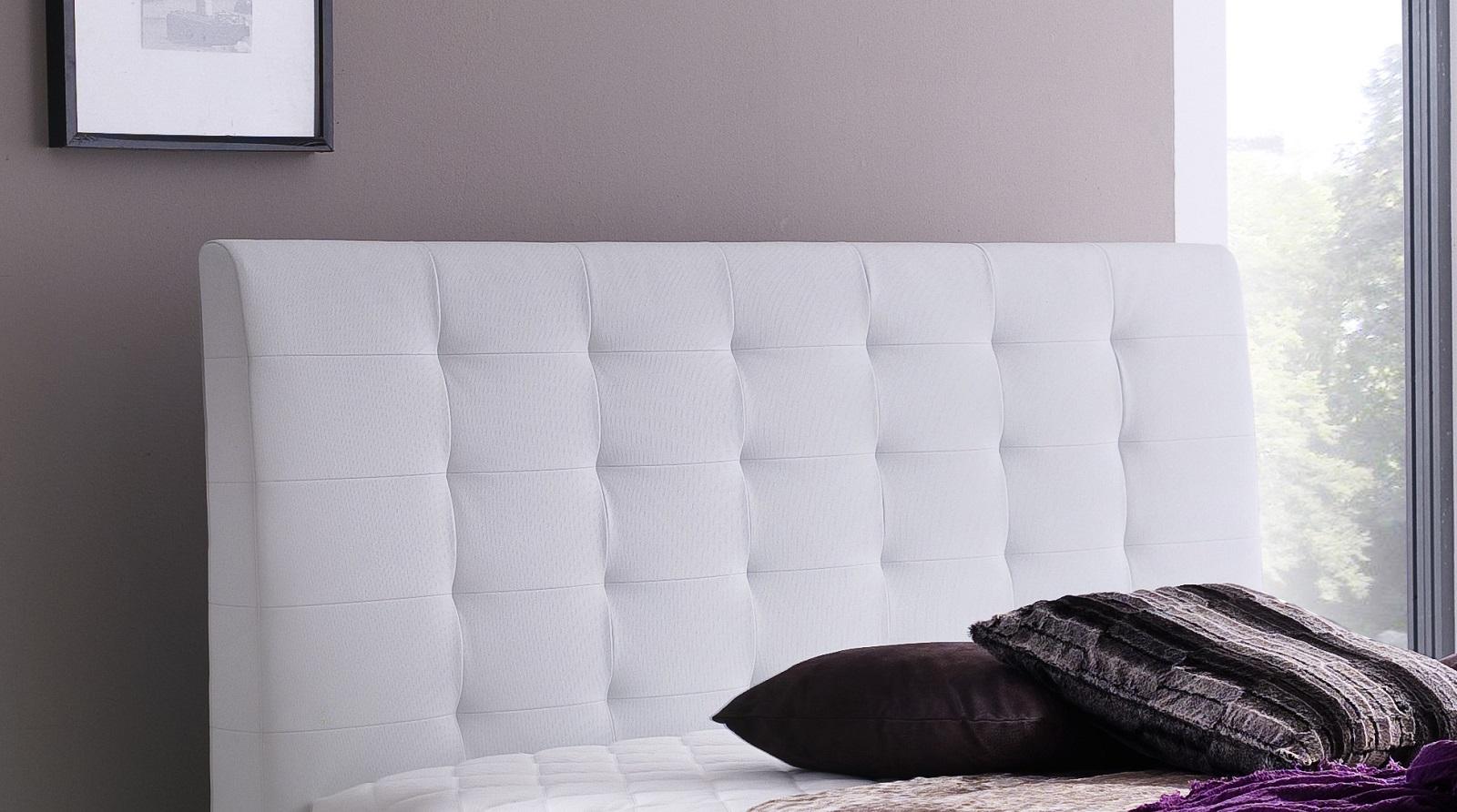 boxspringbett claudine wei 180cm x 200cm. Black Bedroom Furniture Sets. Home Design Ideas