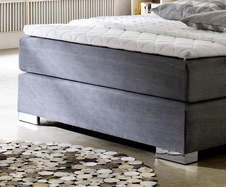 boxspringbett jordan graphit 120cm x 200cm. Black Bedroom Furniture Sets. Home Design Ideas