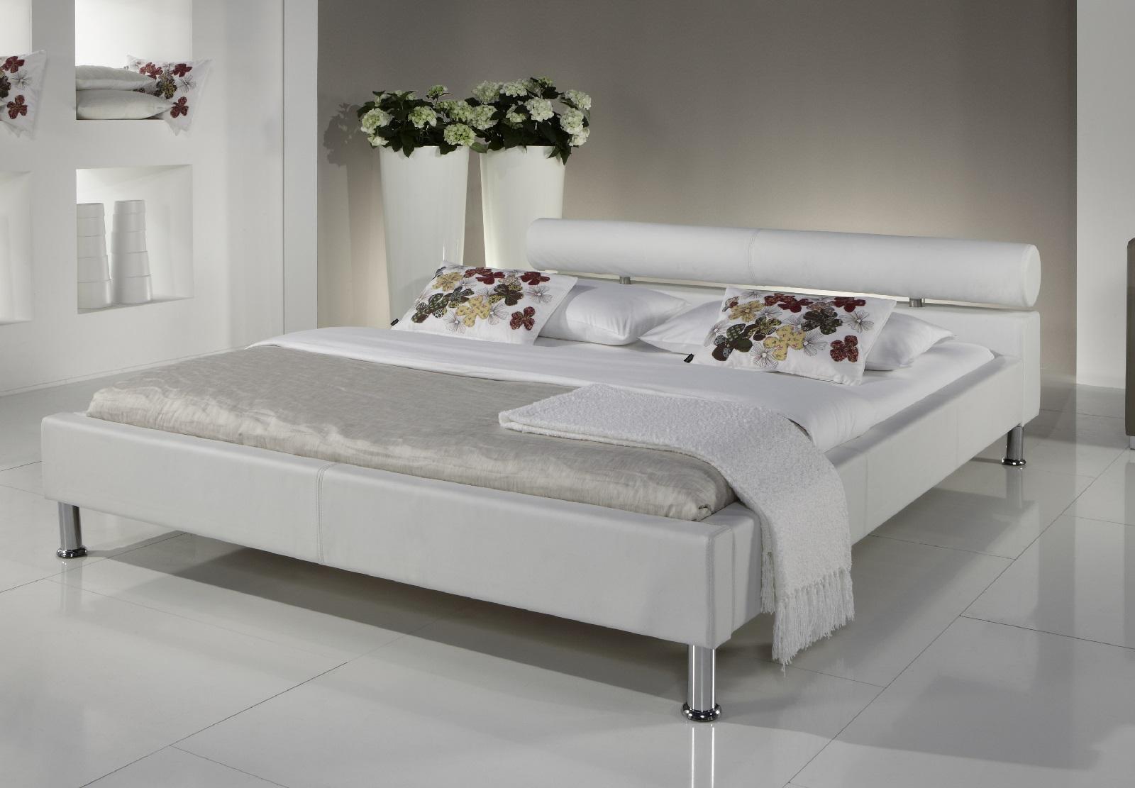 Polsterbett Ornella Weiss Polsterbetten Betten
