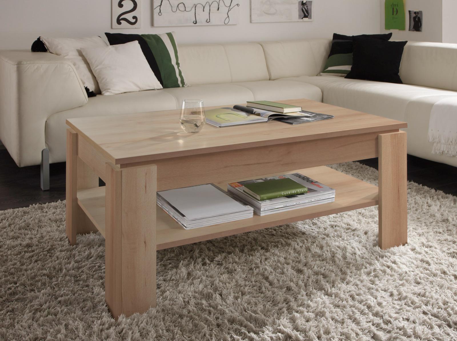 93 wohnzimmertisch real couchtisch kernnuss. Black Bedroom Furniture Sets. Home Design Ideas