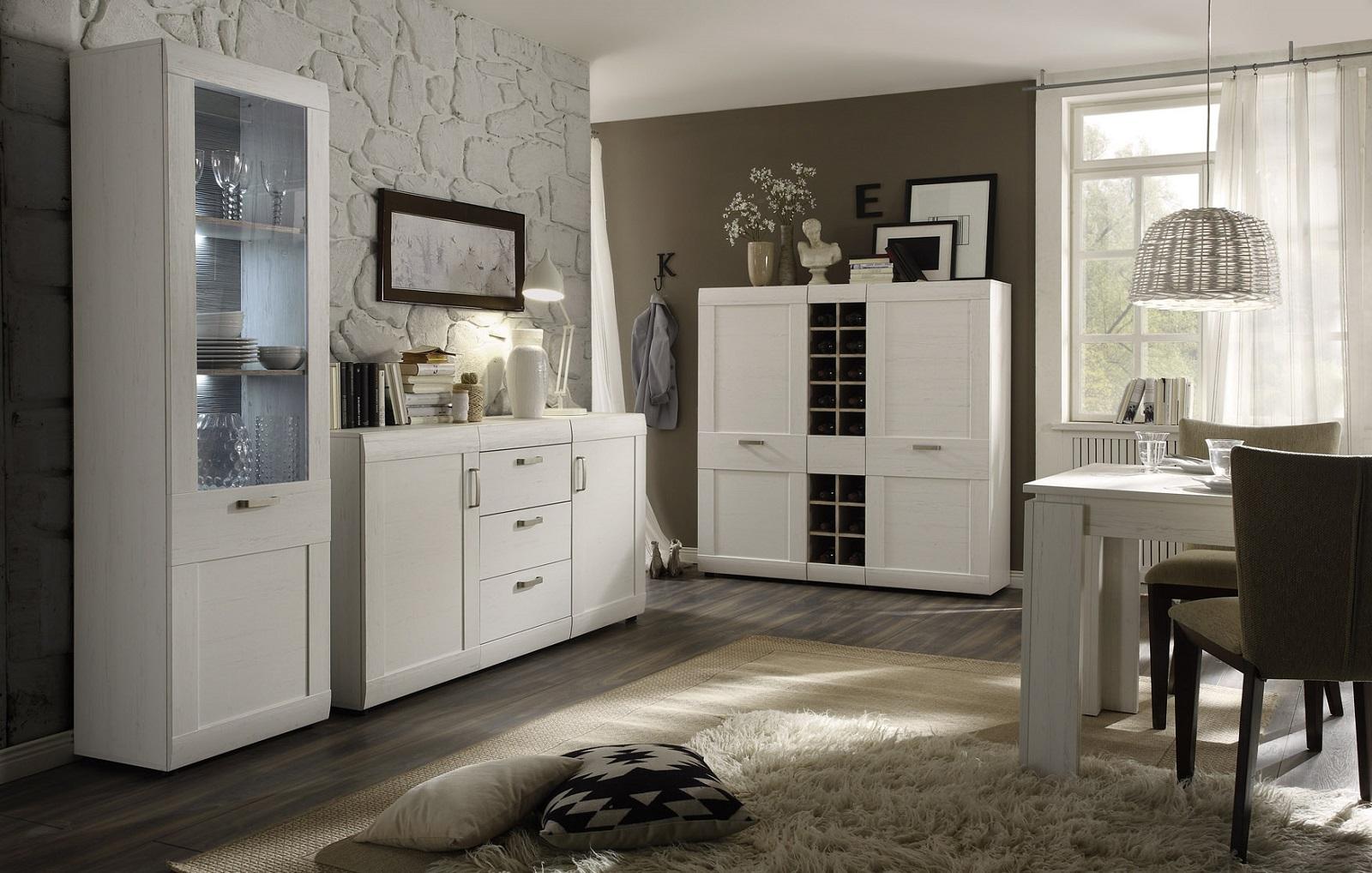 esstisch anderson pinie wei g nstig online kaufen. Black Bedroom Furniture Sets. Home Design Ideas
