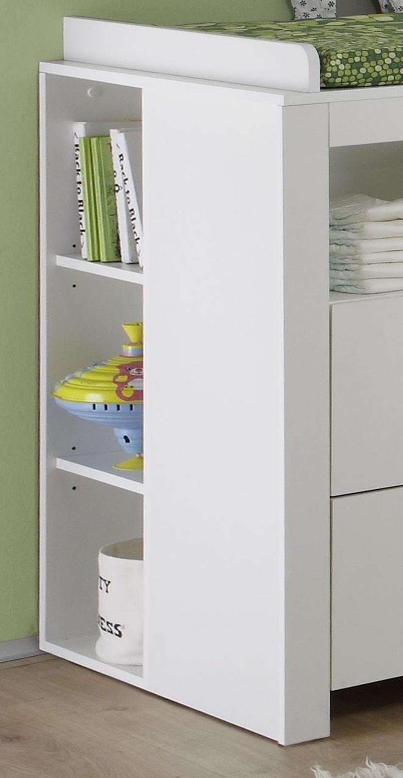 babyzimmer olivia komplett set 3 teilig wei. Black Bedroom Furniture Sets. Home Design Ideas