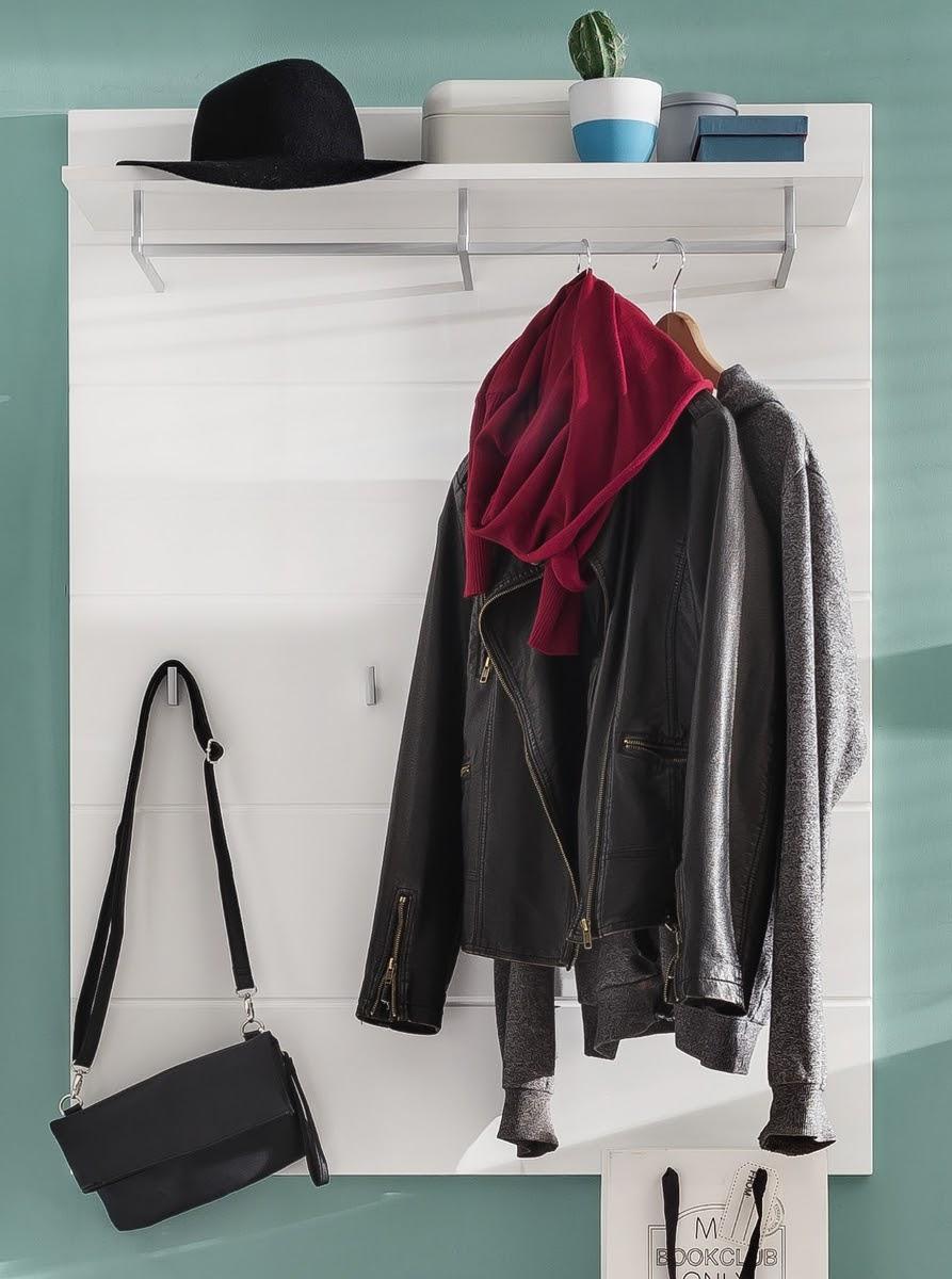 garderobenpaneel wei hochglanz tiefgezogen. Black Bedroom Furniture Sets. Home Design Ideas