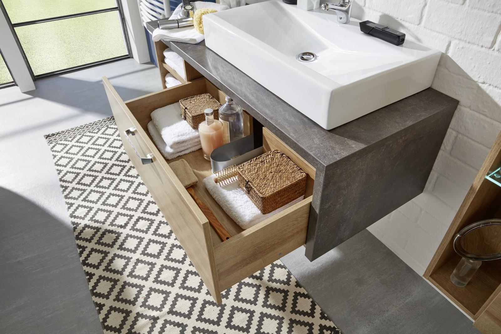 Badezimmer Set Grau