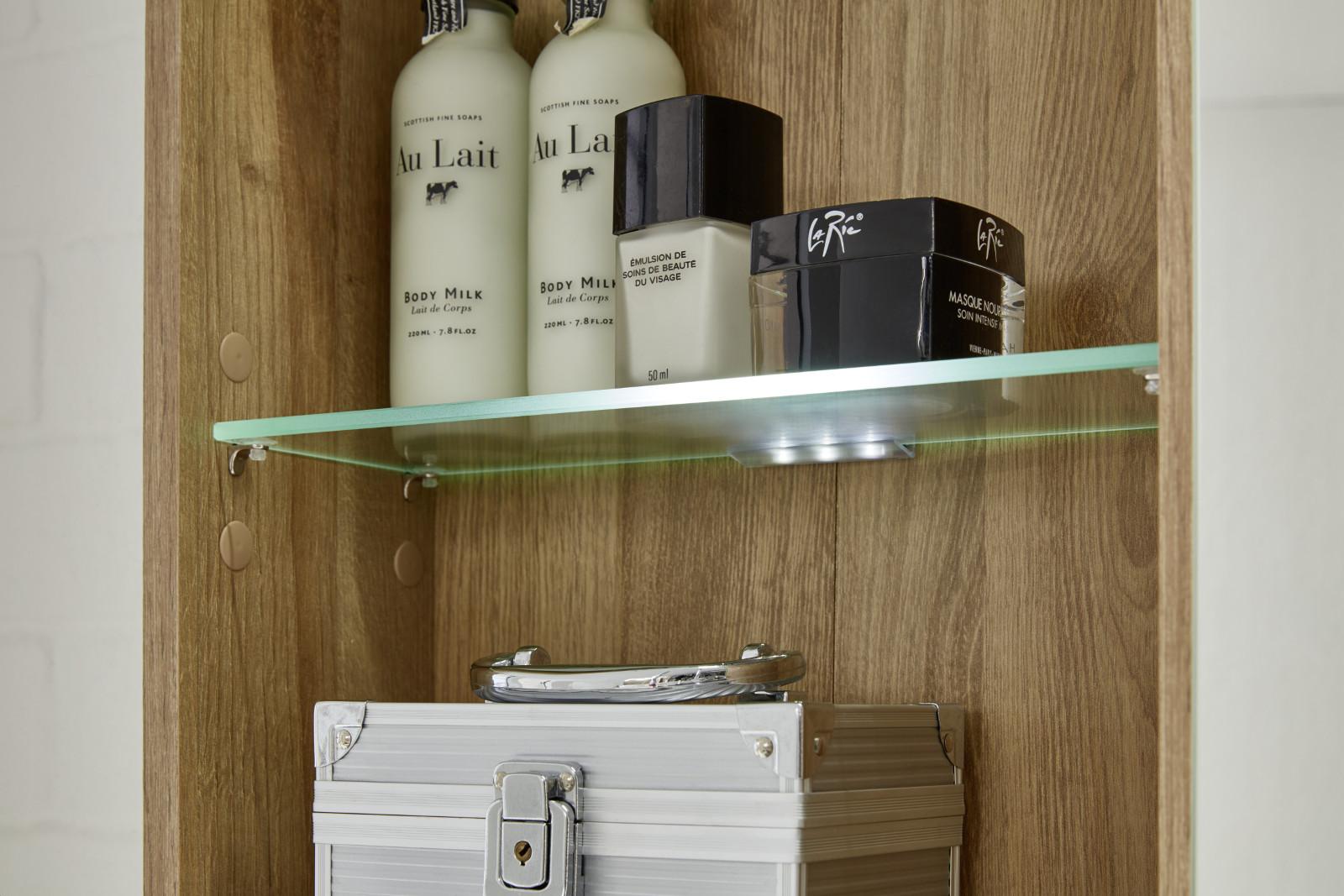 badmöbel komplett set eiche riviera und beton grau, Badezimmer ideen