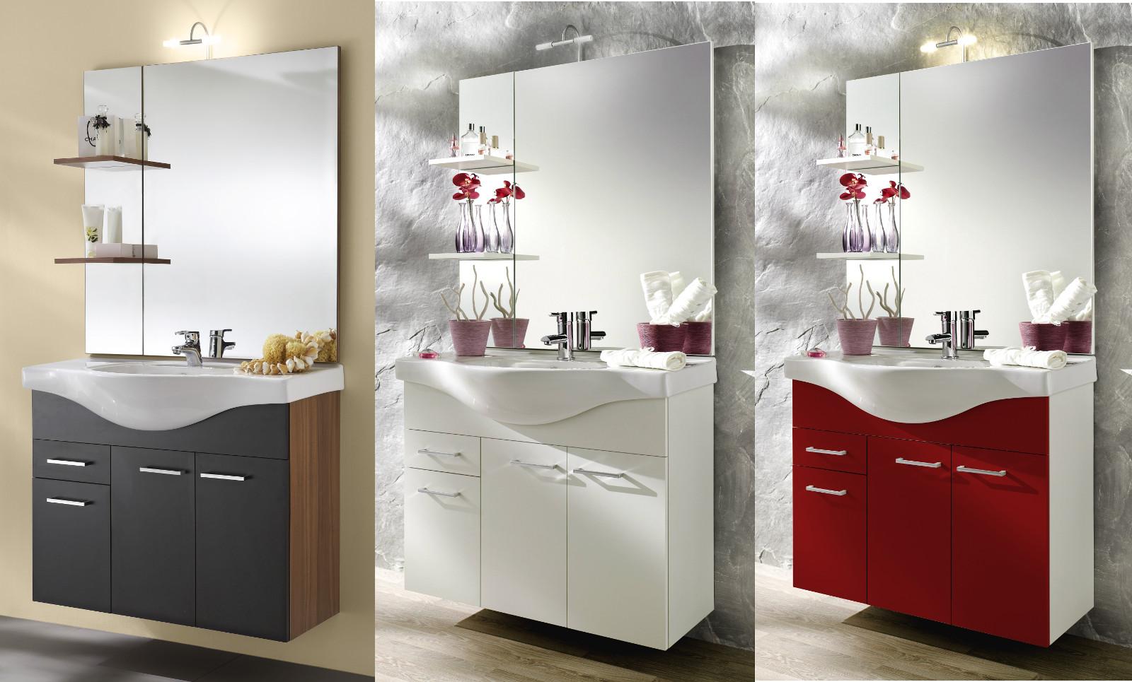 waschplatz inkl keramikbecken und beleuchtung. Black Bedroom Furniture Sets. Home Design Ideas