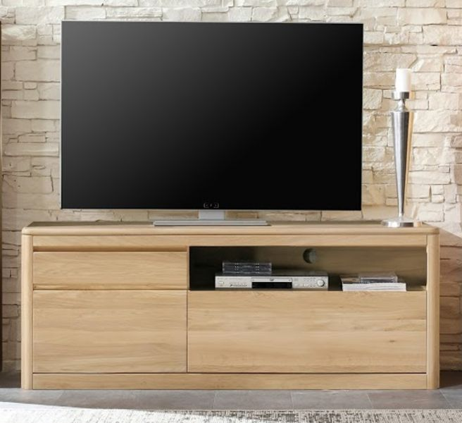 lowboard tv unterteil naturell n1 in eiche bianco. Black Bedroom Furniture Sets. Home Design Ideas