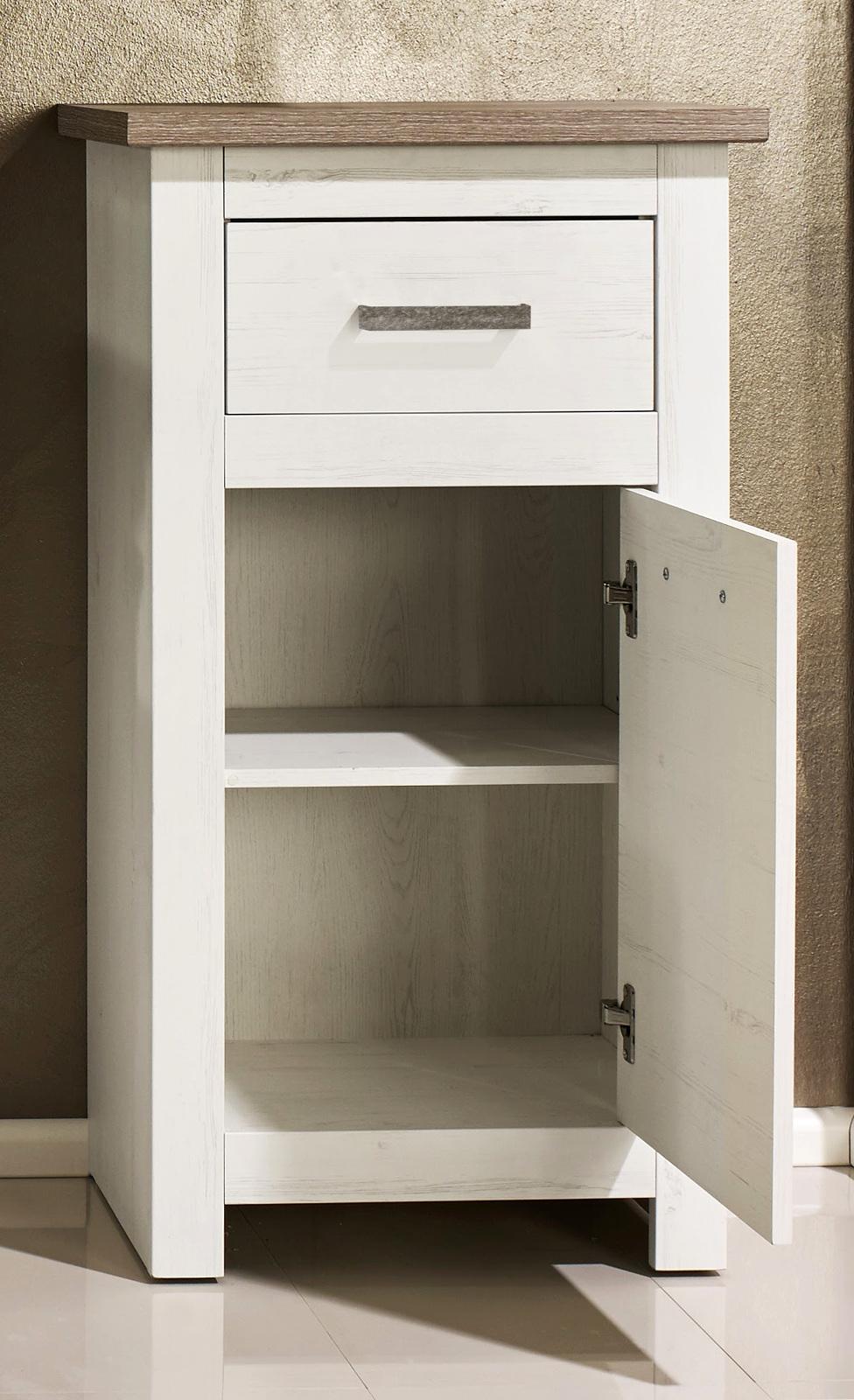 badezimmer standschrank lotte struktur wei. Black Bedroom Furniture Sets. Home Design Ideas