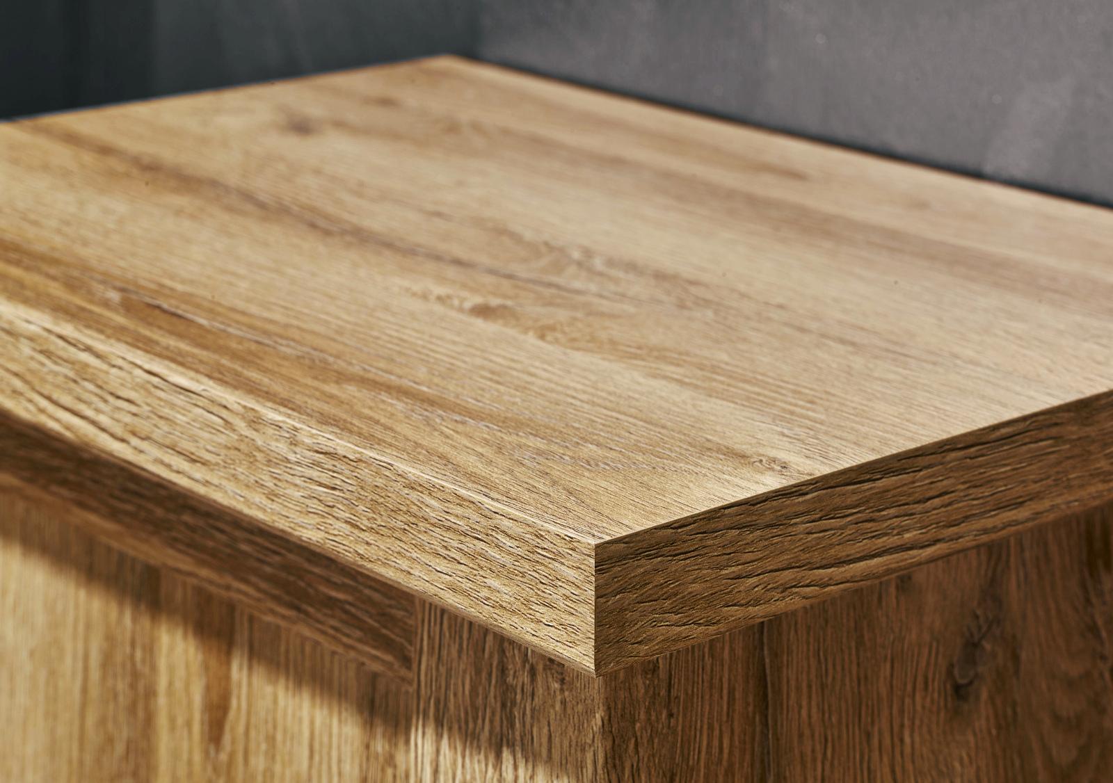 badezimmer hochschrank canyon in alteiche struktur. Black Bedroom Furniture Sets. Home Design Ideas