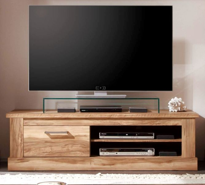 tv unterteil lowboard montreal in nussbaum satin. Black Bedroom Furniture Sets. Home Design Ideas
